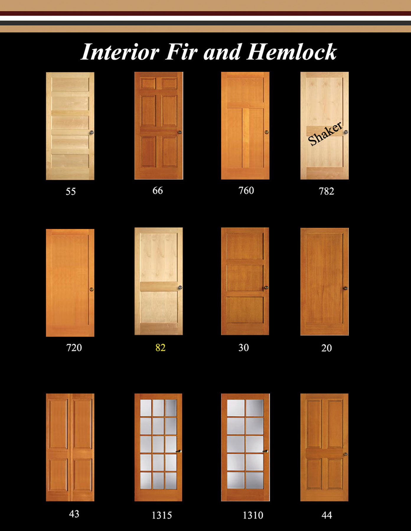 Interior doors cascade door trim can offer just the right door for your project in a variety of styles species and grades stain grade or paint grade we can supply what planetlyrics Choice Image